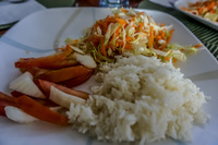 Lunch on ship of North Seymour Day Tour Puerto Ayora, Galapagos, Ecuador, South America